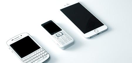 携帯電話招待制