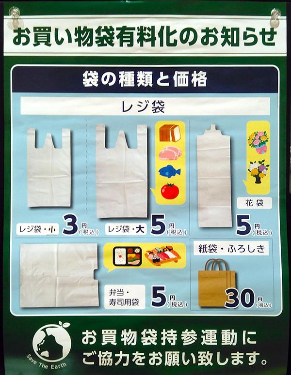 レジ袋有料化ポスター